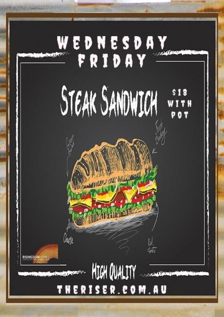 Steak sanga deal